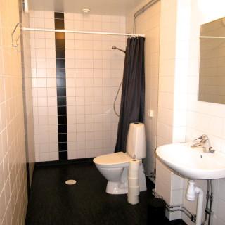 Toalett i korridoren